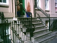 Cast Iron Railings - Glasgow West End