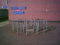 Steel Cycle Racks - Buchanan Galleries Shopping Centre, Glasgow