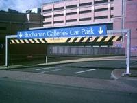 Main Car Park Entrance -  Buchanan Galleries , Glasgow
